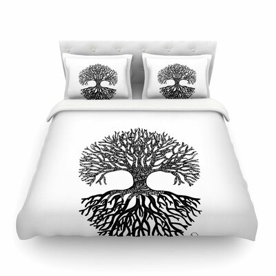 The Tree of Life by Adriana De Leon Featherweight Duvet Cover Size: Queen