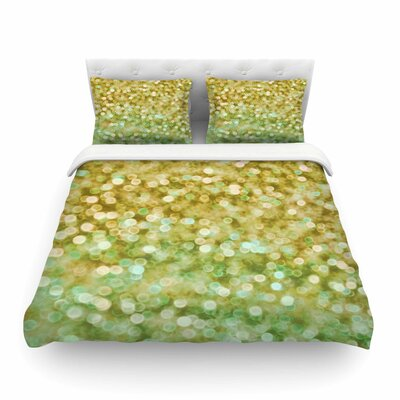 Sparkle Bokeh by Alison Coxon Featherweight Duvet Cover Size: Twin