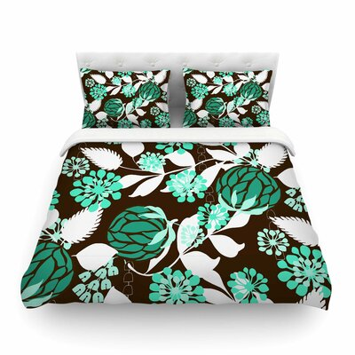 Bold Relief by Amy Reber Featherweight Duvet Cover Size: King