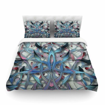 Wax and Wayne Digital by Angelo Cerantola Featherweight Duvet Cover Size: Queen