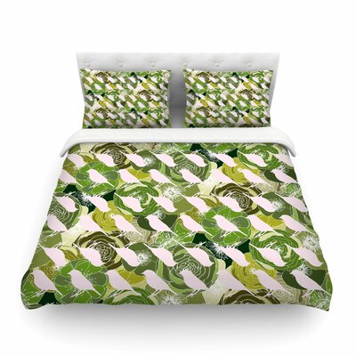 Aisha Pattern by Anchobee Featherweight Duvet Cover Size: Twin
