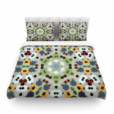 Fruity Fun Modern by Angelo Cerantola Featherweight Duvet Cover Size: Queen