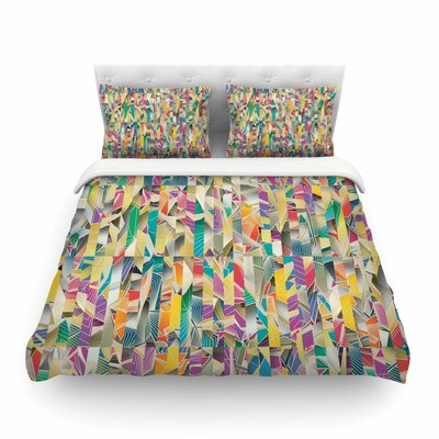 Feel It Pattern by Angelo Cerantola Featherweight Duvet Cover Size: Queen