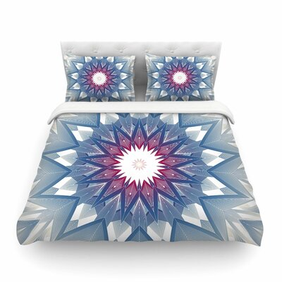 Starburst Digital by Angelo Cerantola Featherweight Duvet Cover Size: Queen
