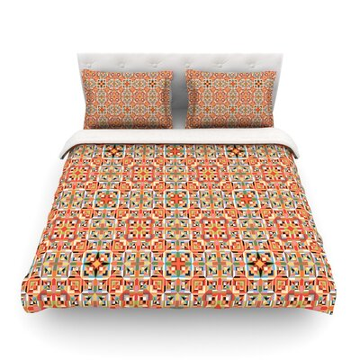 Henson by Allison Soupcoff Featherweight Duvet Cover Size: Twin