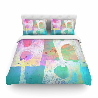 Villi by Alyzen Moonshadow Featherweight Duvet Cover Size: Queen
