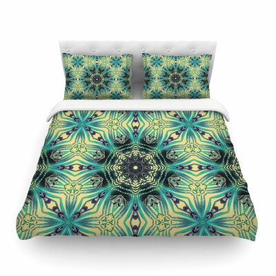 Paradis 2 by Alison Coxon Featherweight Duvet Cover Size: Queen