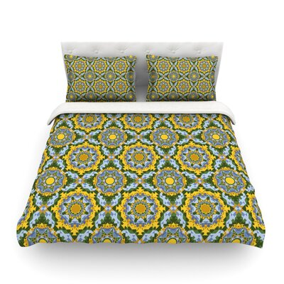 Sunflowe by Allison Soupcoff Featherweight Duvet Cover Size: King