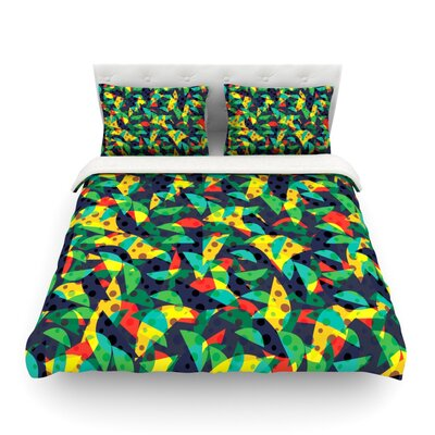 Fruit and Fun by Akwaflorell Featherweight Duvet Cover Size: Twin