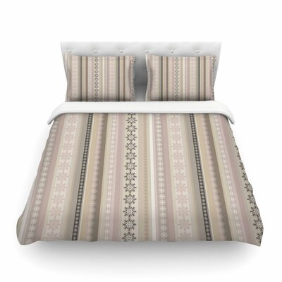 Hint by Allison Soupcoff Featherweight Duvet Cover Size: Queen