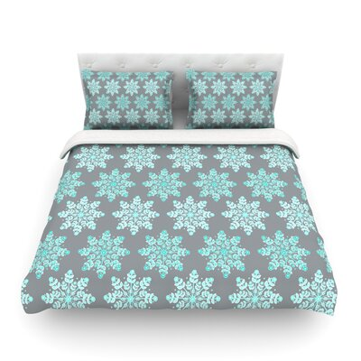 Christmas by Anchobee Featherweight Duvet Cover	 Size: King
