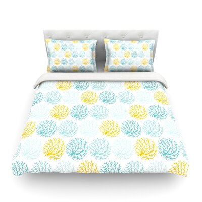 Coralina by Anchobee Featherweight Duvet Cover Size: Twin