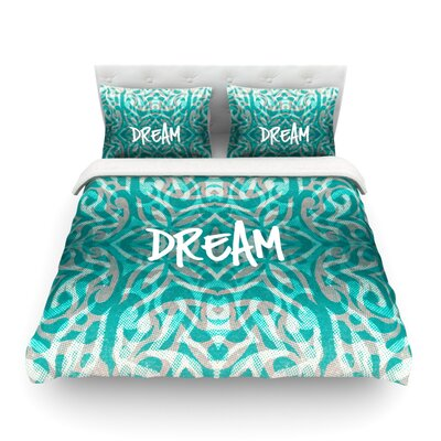 Tribal Dreams by Alveron Featherweight Duvet Cover Size: King