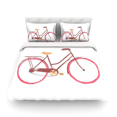 Bike by Alik Arzoumanian Featherweight Duvet Cover Size: Twin