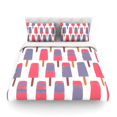 Pop by Alik Arzoumanian Featherweight Duvet Cover Size: Twin
