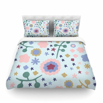 Morning Flowers by Alik Arzoumanian Featherweight Duvet Cover Size: Queen