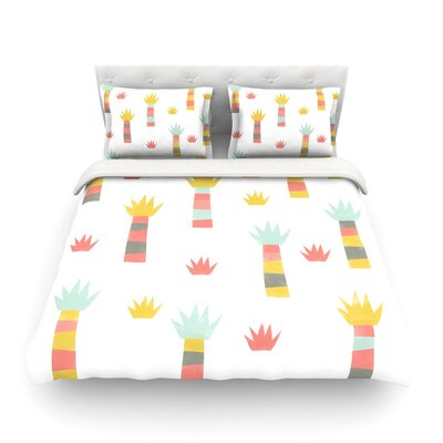 Tropical by Alik Arzoumanian Featherweight Duvet Cover Size: Queen