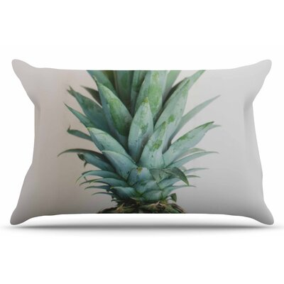The Pineapple by Chelsea Victoria Pillow Sham Size: Standard