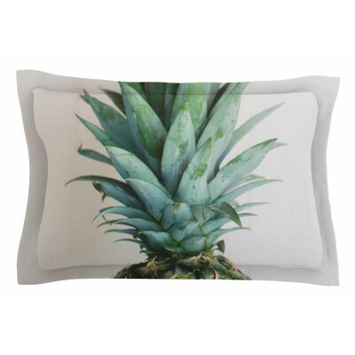 The Pineapple by Chelsea Victoria Pillow Sham Size: King