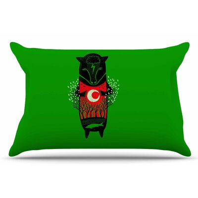 There Is Life by BarmalisiRTB Pillow Sham Size: King