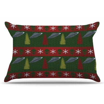 Xmas Files by Alias Pillow Sham