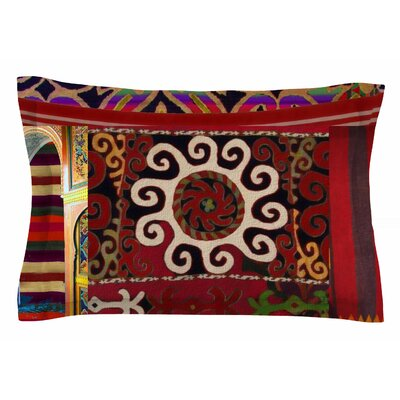Burst of Diverse by S Seema Z Pillow Sham Size: Queen
