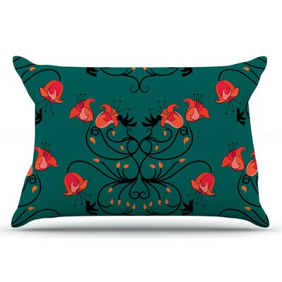 Hummingbird by Yenty Jap Pillow Sham Size: King