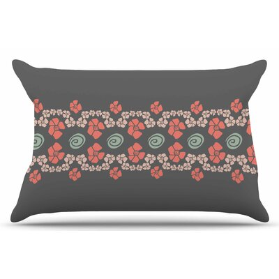 Flora Formations by Zara Martina Mansen Pillow Sham Size: King