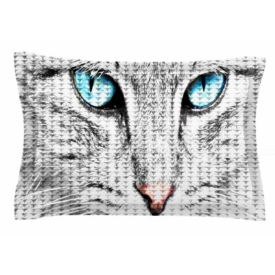 Cat by Suzanne Carter Pillow Sham Size: Queen