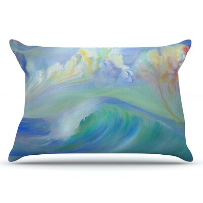 Jelly Fish by Theresa Giolzetti Pillow Sham Size: King