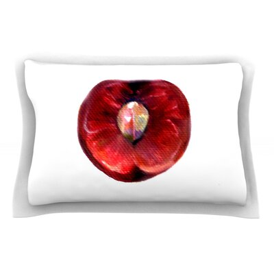 Cherry by Theresa Giolzetti Pillow Sham Size: Queen