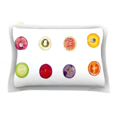 Fruit by Theresa Giolzetti Pillow Sham Size: Queen