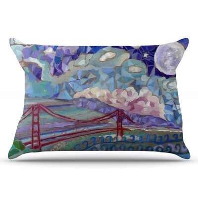 San Fran by Theresa Giolzetti Pillow Sham Size: King