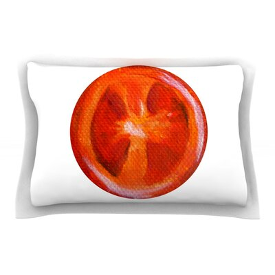 Tomatoes by Theresa Giolzetti Pillow Sham Size: Queen