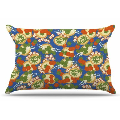 Clam and Paulownia by Setsu Egawa Pillow Sham Size: King