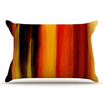 Firework by Theresa Giolzetti Pillow Sham Size: King