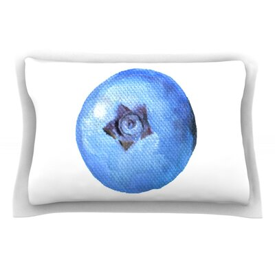Blueberry by Theresa Giolzetti Pillow Sham Size: Queen