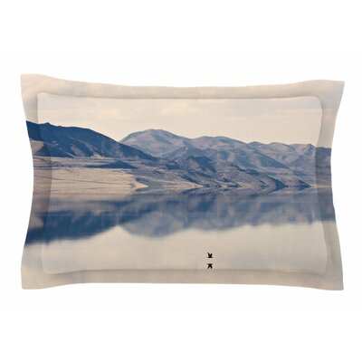 Reflective 1 by Sylvia Coomes Pillow Sham Size: Queen