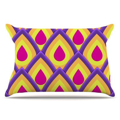 Pineapple by Roberlan Pillow Sham Size: King