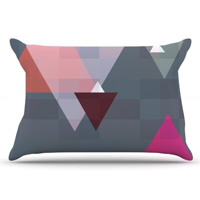 Geo II by Suzanne Carter Pillow Sham Size: King