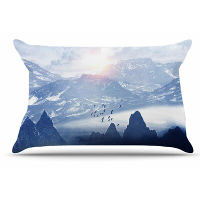 Winter, Melody... by Viviana Gonzalez Pillow Sham Size: King