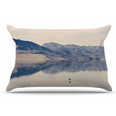 Reflective 1 by Sylvia Coomes Pillow Sham Size: King