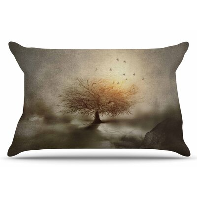 Lone Tree Love IV by Viviana Gonzalez Pillow Sham Size: King
