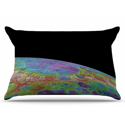Mercurys Closeup by Alias Pillow Sham Size: King