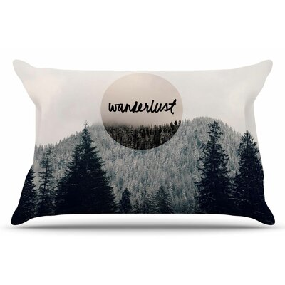 Wanderlust by Robin Dickinson Pillow Sham Size: King