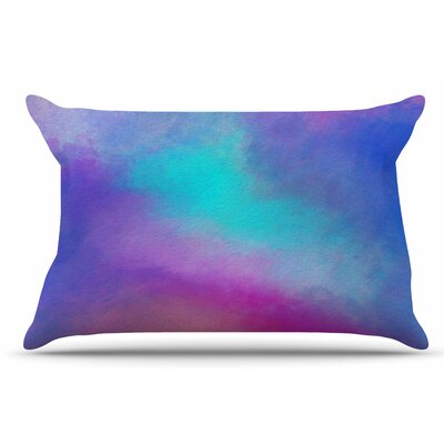 Abstract 02 by Viviana Gonzalez Pillow Sham Size: King