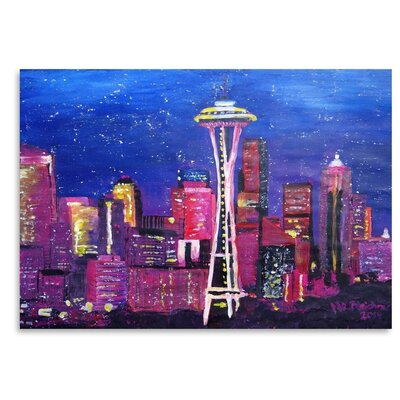 Seattle Stars Painting UNFP9158 33532275