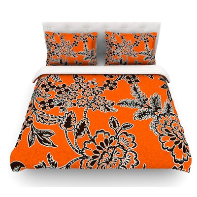 Blossom by Vikki Salmela Featherweight Duvet Cover Size: King