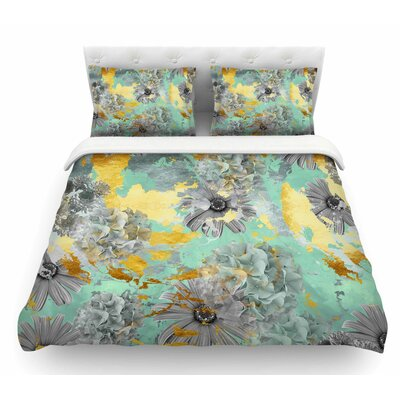 Garden by Zara Martina Mansen Featherweight Duvet Cover Size: Twin