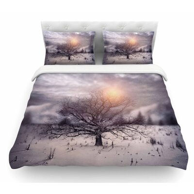 Lone Tree Love II by Viviana Gonzalez Featherweight Duvet Cover Size: King